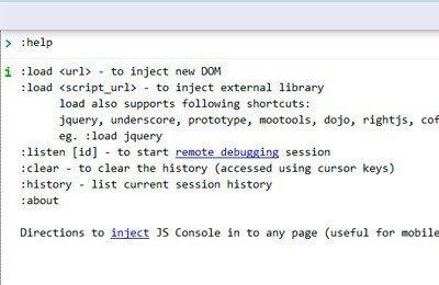 JavaScript Console – Debugging JavaScript Tool