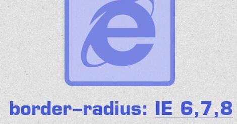 Закругленные углы в Internet Explorer 8 и ниже