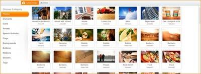 Готовые изображения на HTML5Maker