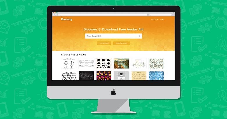 Vecteezy - качественные векторные графические изображения для дизайнеров
