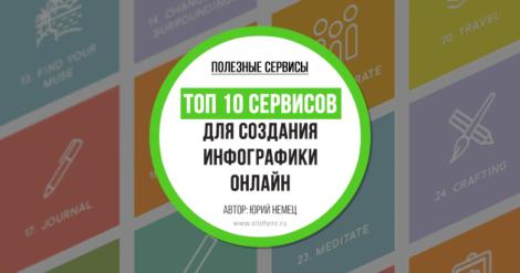 Создание инфографики онлайн