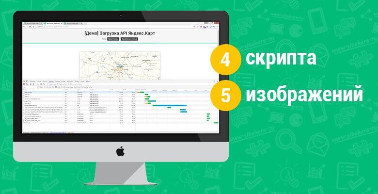 Загрузка API Яндекс.Карт
